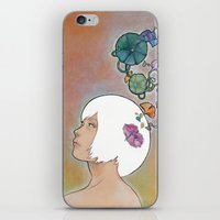 Moonflower iPhone & iPod Skin