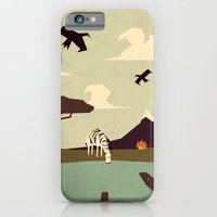 iPhone & iPod Case featuring Z is for Zebra by Yetiland