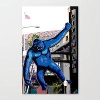King Kong Canvas Print