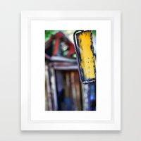 Rear View Framed Art Print