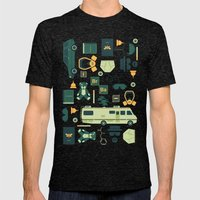 Breaking Bad Mens Fitted Tee Tri-Black SMALL