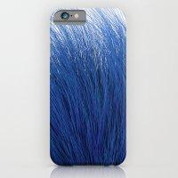 iPhone & iPod Case featuring Blue Fuzz by FalexanderArt