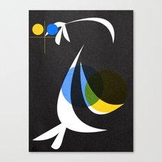 Night swim 01 Canvas Print