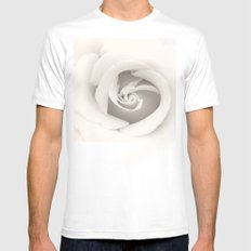 spiral White Mens Fitted Tee SMALL