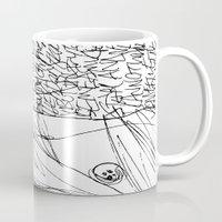 Line and Words - 2 Mug