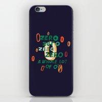 Zero Zero Zero iPhone & iPod Skin