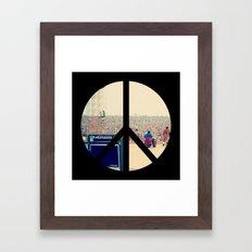 Woodstock 69 Framed Art Print