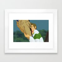 Deancas Spirited Away AU 2/5 Framed Art Print