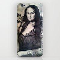 Tatted Lisa iPhone & iPod Skin
