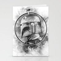 Boba Fett Remix Stationery Cards