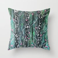 faerie dust Throw Pillow