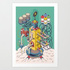 Rasti / Industria Argentina Art Print