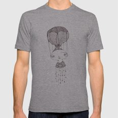 take me away Mens Fitted Tee Athletic Grey SMALL