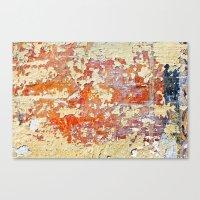Peeling Canvas Print