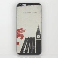 V for Vendetta, Alternative Movie Poster iPhone & iPod Skin