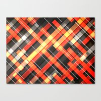 Weave Pattern Canvas Print