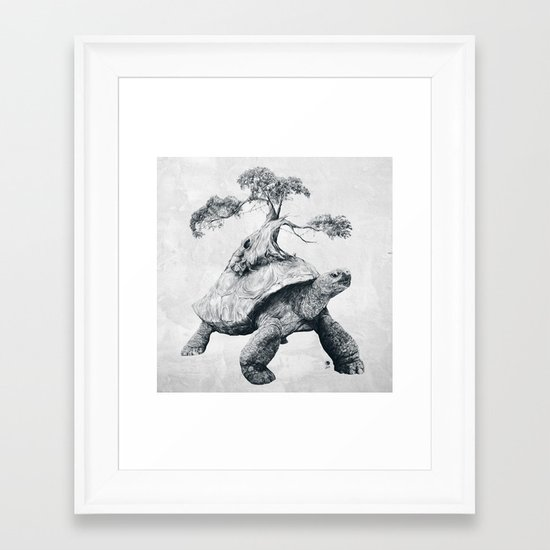 Tortoise Tree - Growth Framed Art Print