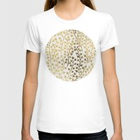 watercolor T-shirts featuring Gold Ivy by Cat Coquillette
