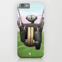 iPhone & iPod Case featuring Spriiiiing breeeak by Aleksandra Mikolajczak