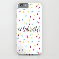iPhone & iPod Case featuring Celebration Lights by MaJoBV