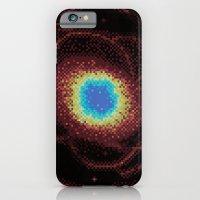 Ring Galaxy (8bit) iPhone 6 Slim Case