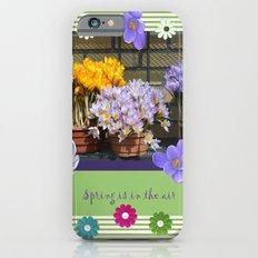 Enjoy Spring with crocuses iPhone 6 Slim Case
