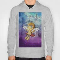 Angel Boy On A Swing Hoody