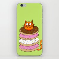 More Cats & Donuts iPhone & iPod Skin