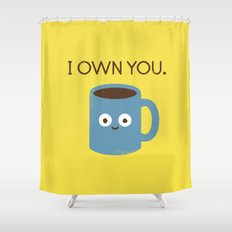 Coffee Talk Shower Curtain