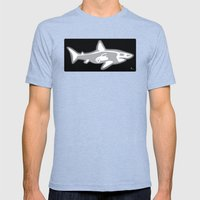 Shark X-Ray Mens Fitted Tee Tri-Blue SMALL