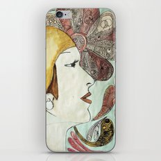 Flapper iPhone & iPod Skin