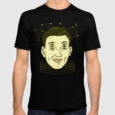 headache highness SMALL Black Mens Fitted Tee