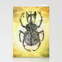 Sr Coprofago - Beetle Sh… Stationery Cards