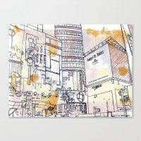 Longacre Square  Canvas Print