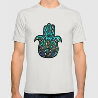 Third Eye Mens Fitted Tee Silver SMALL