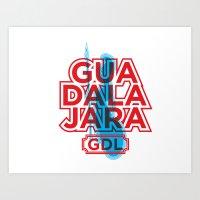 G.D.L. Art Print