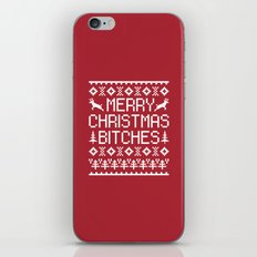 Merry Christmas Bitches … iPhone & iPod Skin