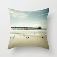 Summer Idyll Throw Pillow
