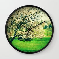 Meet Me Under The Old Ap… Wall Clock