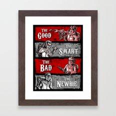 Ghost Wranglers Framed Art Print