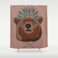 BossBear Shower Curtain