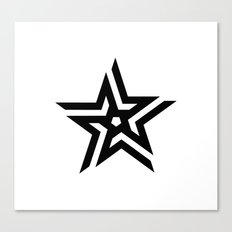 Untitled Star Canvas Print