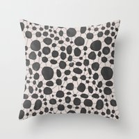 Stones and Lines II Throw Pillow