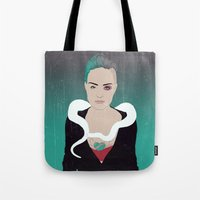 Ghost City Tote Bag