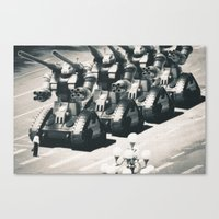 guntank man Canvas Print