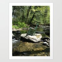 Chair III Art Print