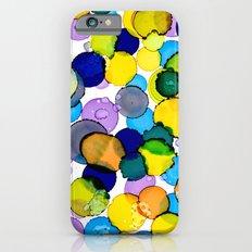 Blue splash of joy iPhone 6 Slim Case