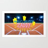 Zaddy Art Print