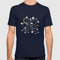 Spring Mens Fitted Tee Navy SMALL