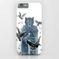 Wolf And Ravens iPhone 6 Slim Case